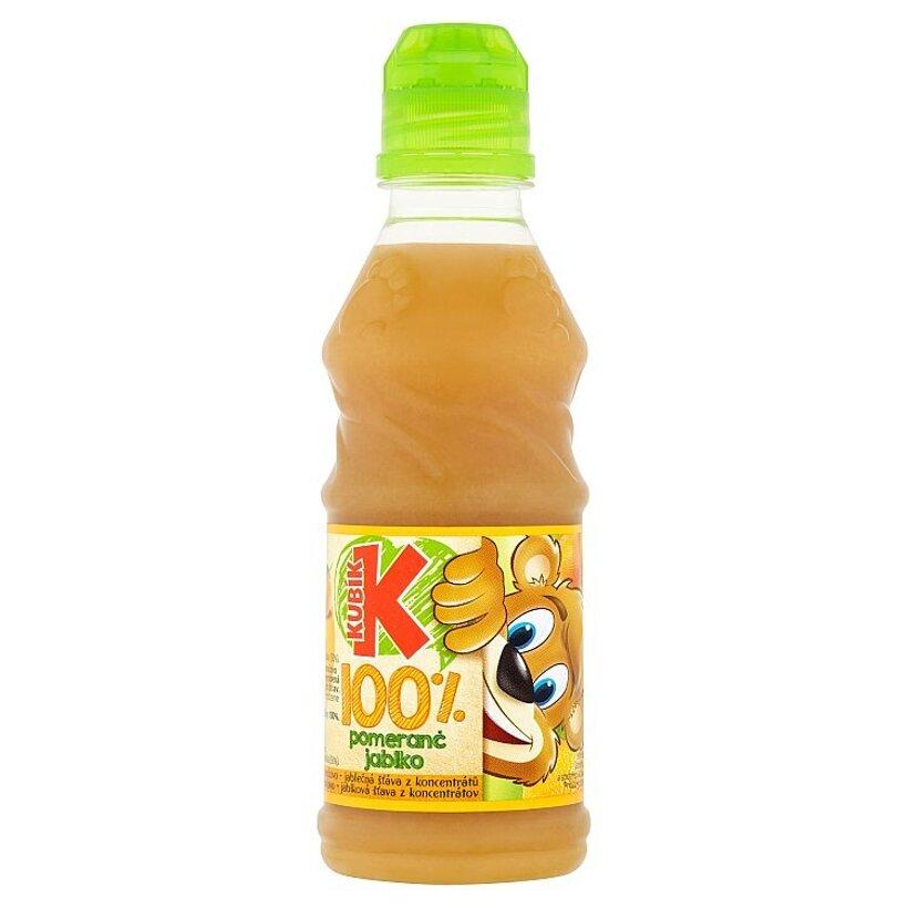 Kubík 100% pomaranč jablko 300 ml