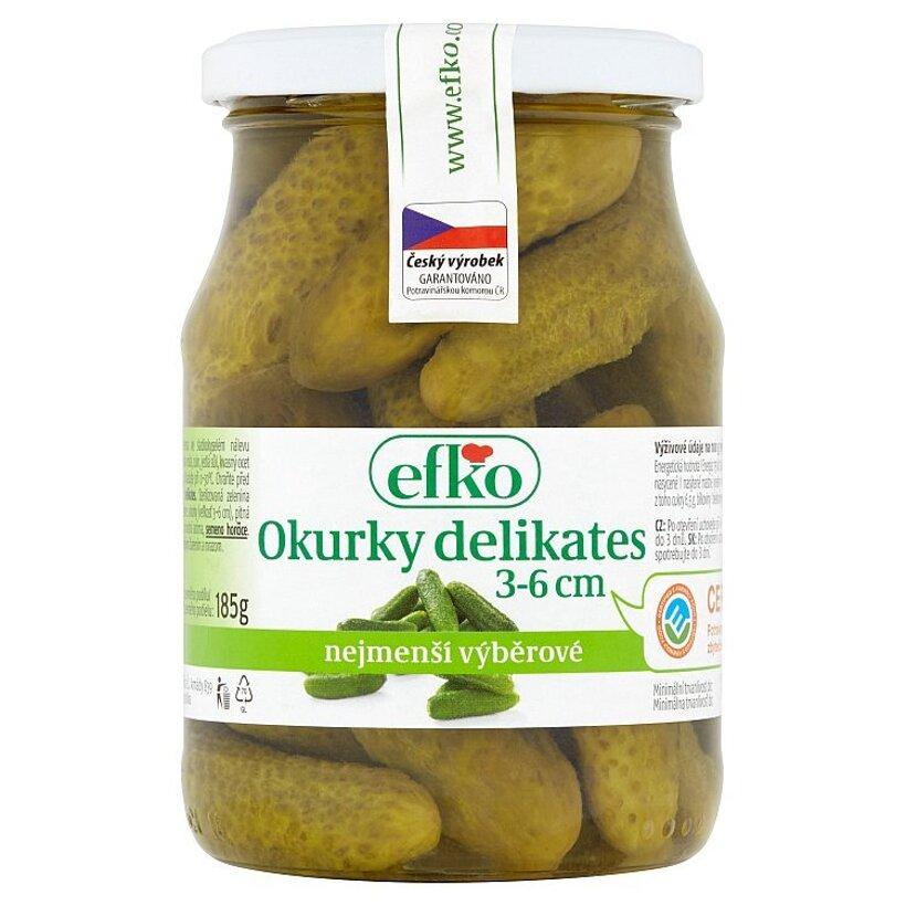 efko Uhorky delikates 3-6 cm 330 g