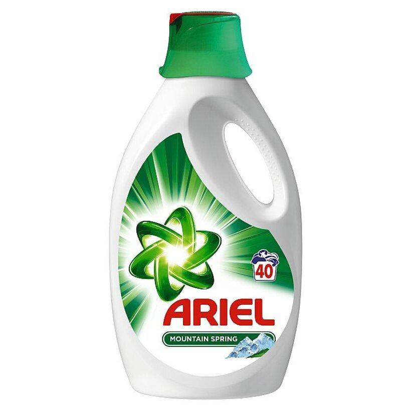 Ariel Mountain Spring Tekutý Prací Prostriedok 2600 ml Na 40 Praní