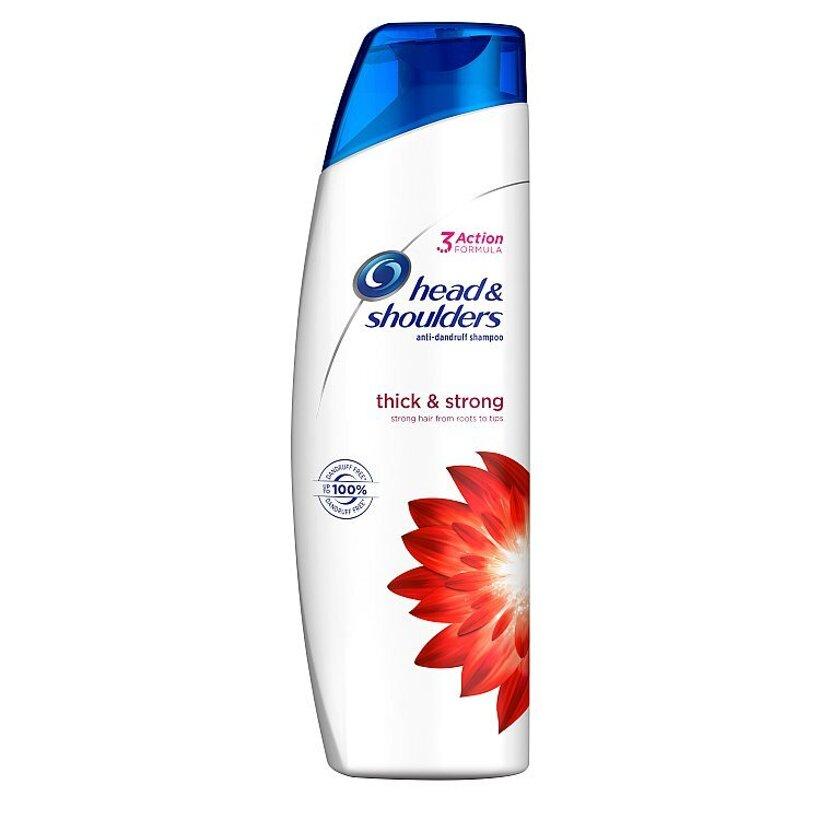 Head & Shoulders Thick & Strong Šampón Proti Lupinám 250 ml