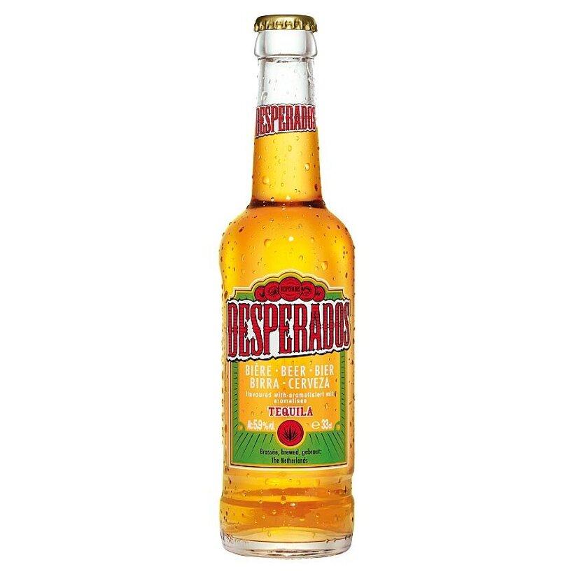 Desperados Pivo s príchuťou tequila špeciálny ležiak svetlý  0,33 l