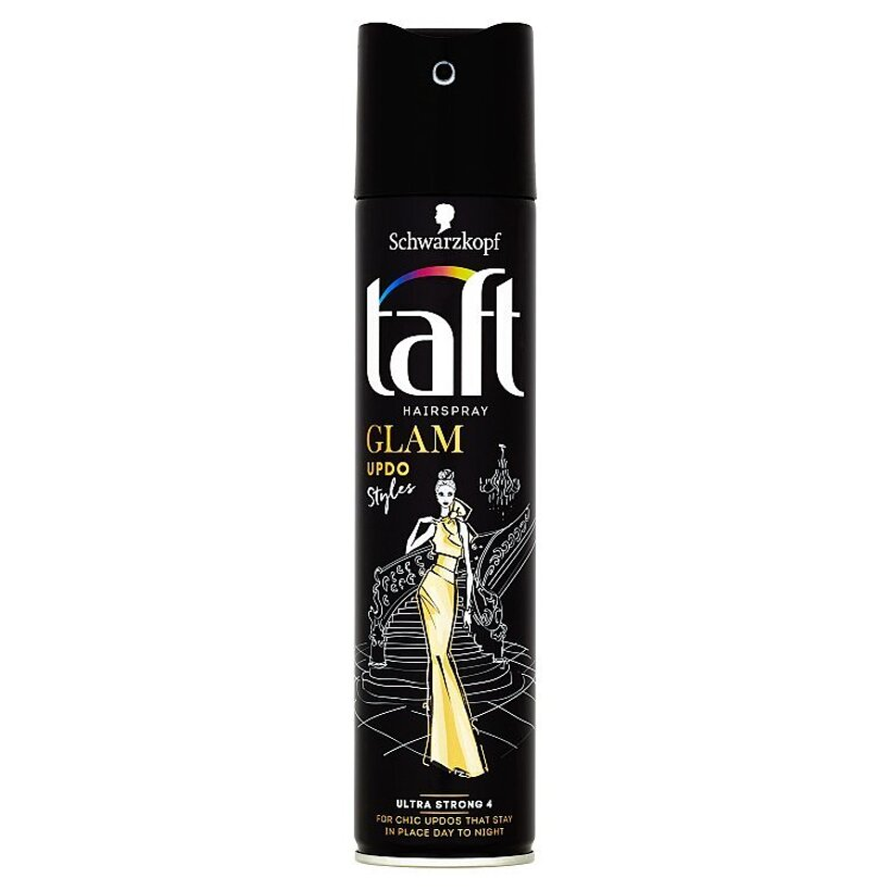 Taft Glam Updo Styles lak na vlasy Ultra Strong 4 250 ml