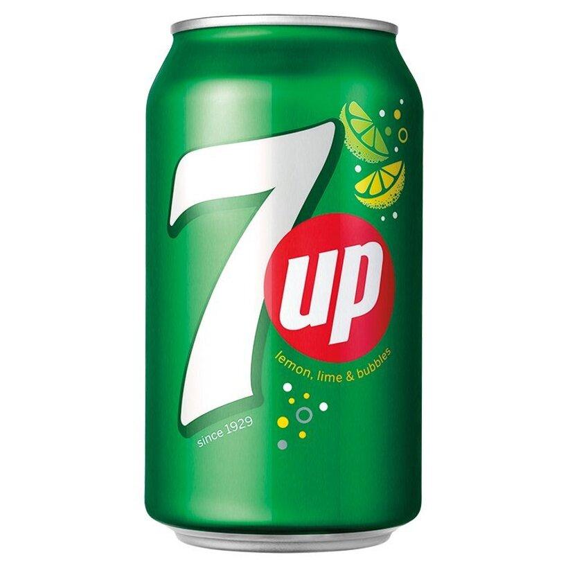 7UP Limonáda s citrónovo-limetovou príchuťou 330 ml