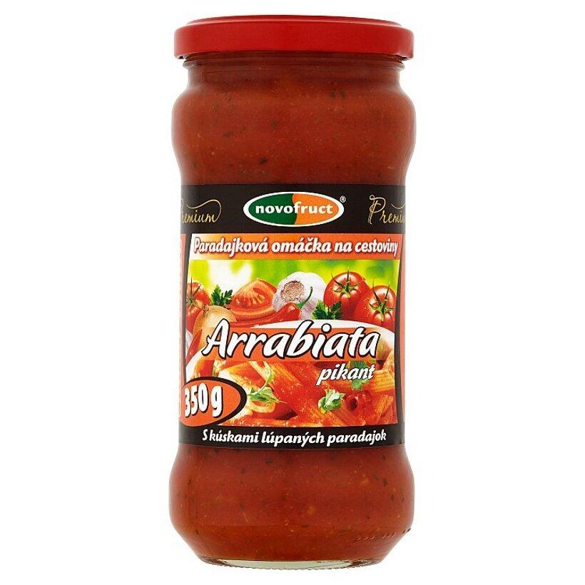 Novofruct Premium Arrabiata pikant paradajková omáčka na cestoviny 350 g