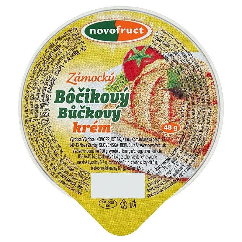 Novofruct Zámocký bôčikový krém 48 g