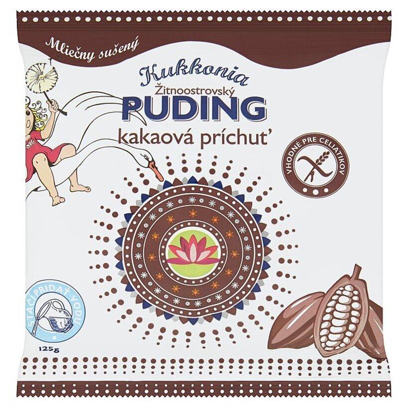 Kukkonia Žitnoostrovský puding kakaová príchuť 125 g