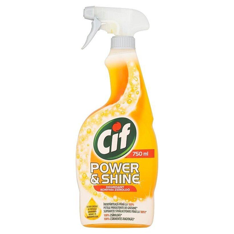 Cif Power&Shine Kuchyňa čistiaci sprej 750 ml