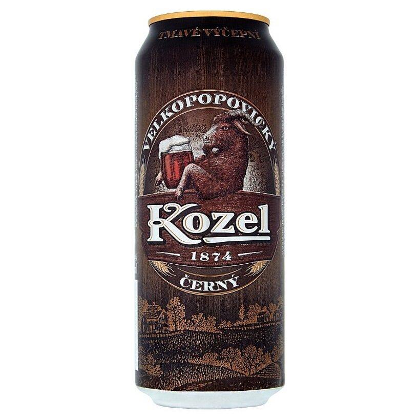 Velkopopovický Kozel Čierny pivo konzumné tmavé 500 ml