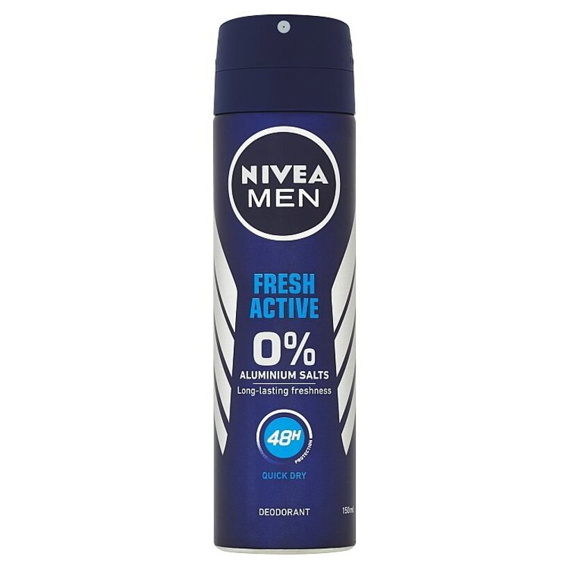 Nivea Men Fresh Active Sprej dezodorant 150 ml