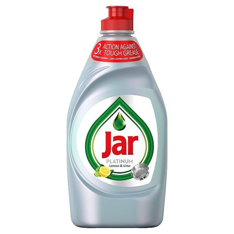 Jar Platinum Lemon & Lime S 3-Násobnou Účinnosťou Prostriedok Na Umývanie Riadu, 430 ml