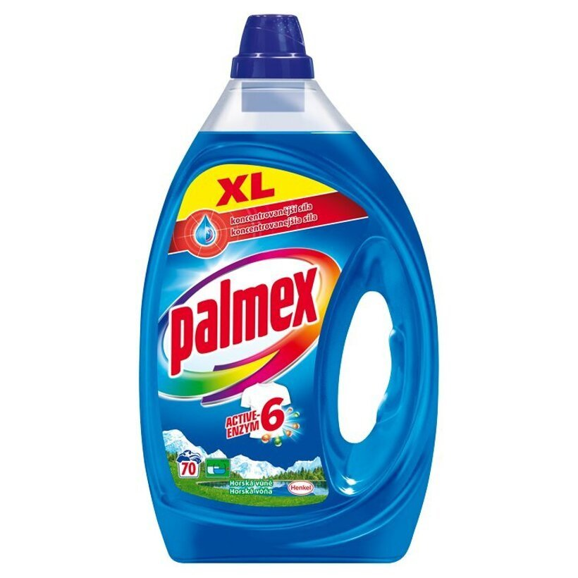 Palmex Active-Enzym 6 Horská vôňa prací prostriedok 70 praní 3,50 l