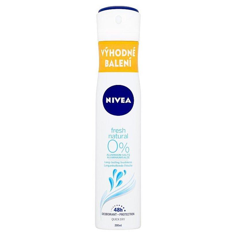Nivea Fresh Natural Sprej dezodorant 200 ml