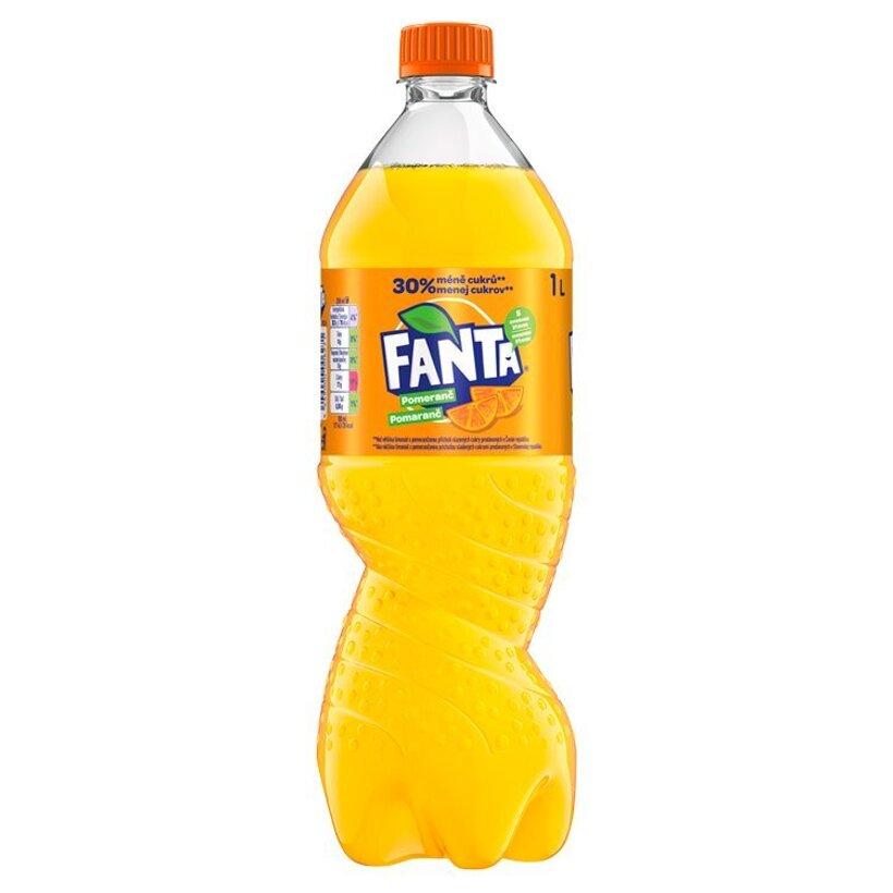 Fanta, pomarančová limonáda, 1 l