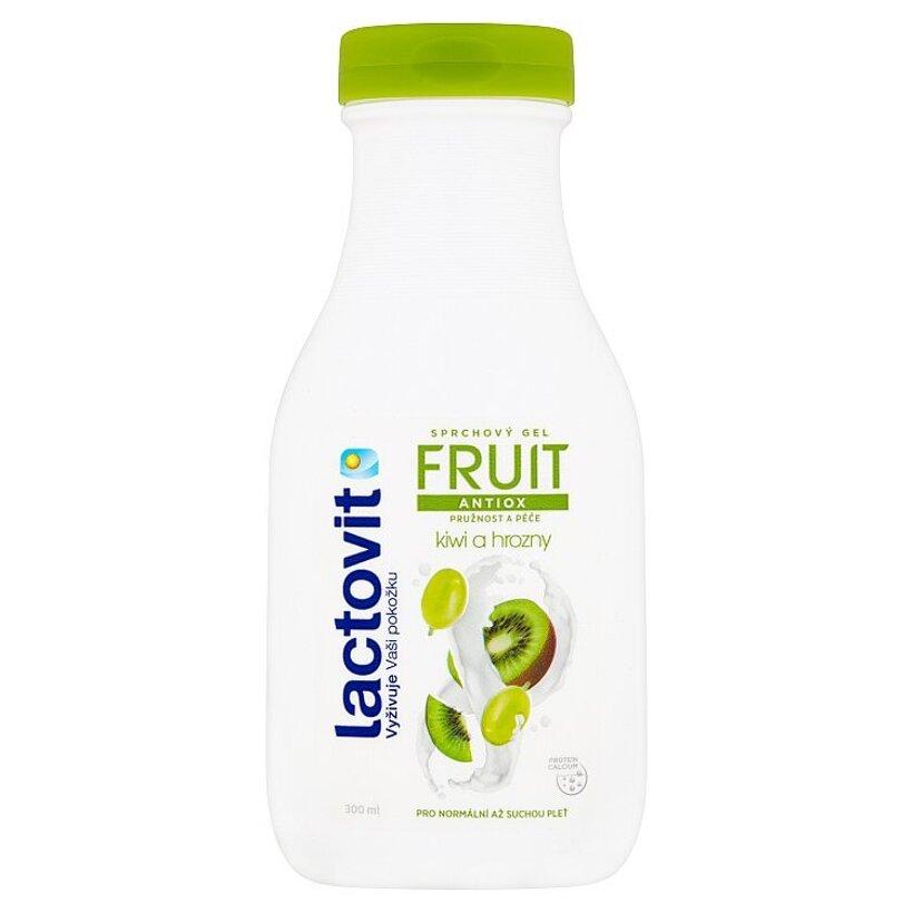 Lactovit Fruit Antiox kiwi a hrozno sprchový gél 300 ml