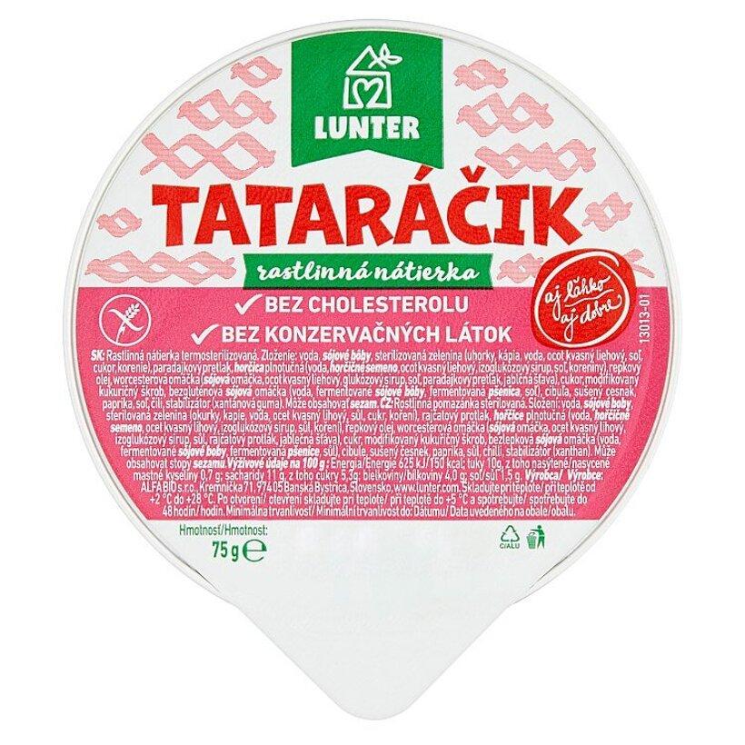 Lunter Tataráčik rastlinná nátierka 75 g