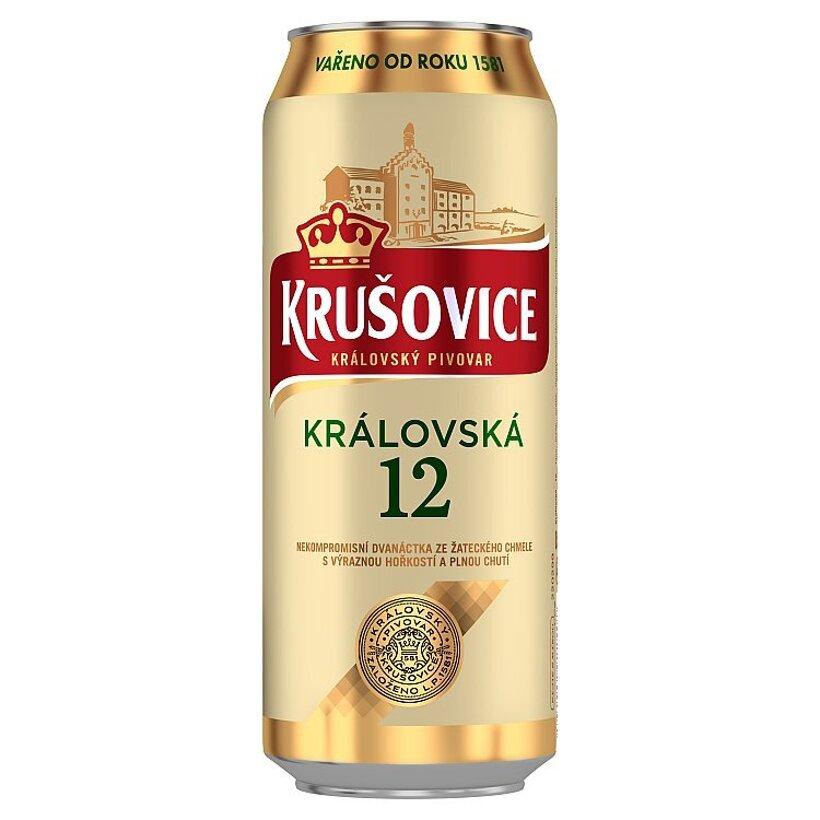 Krušovice Královská 12 pivo svetlý ležiak