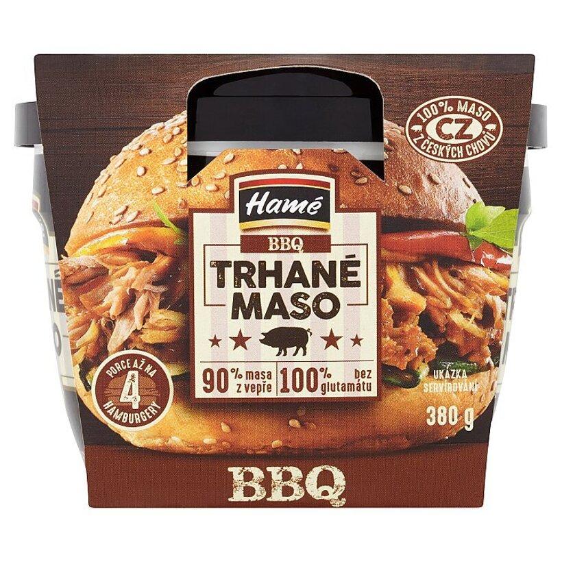 Hamé BBQ trhané mäso 380 g