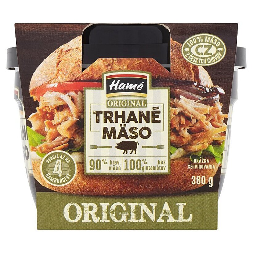 Hamé Original trhané mäso 380 g