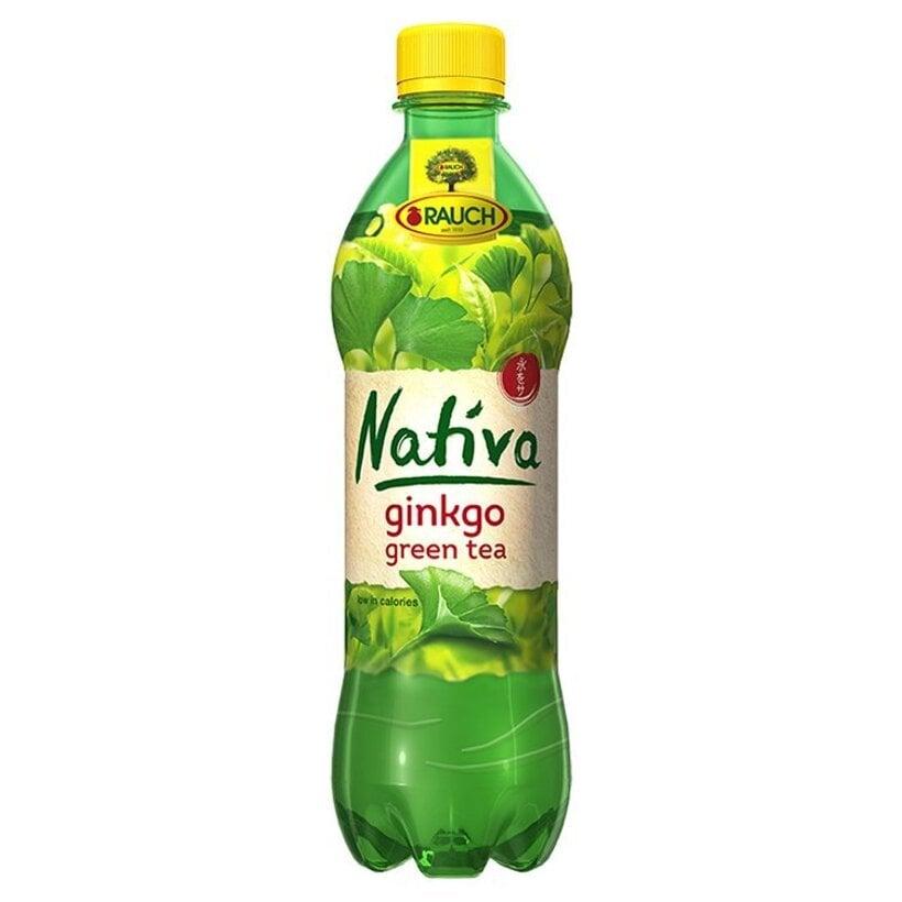 Rauch Nativa Zelený čaj s ginkgom 0,5 l