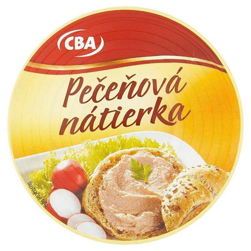 CBA Pečeňová nátierka 115 g