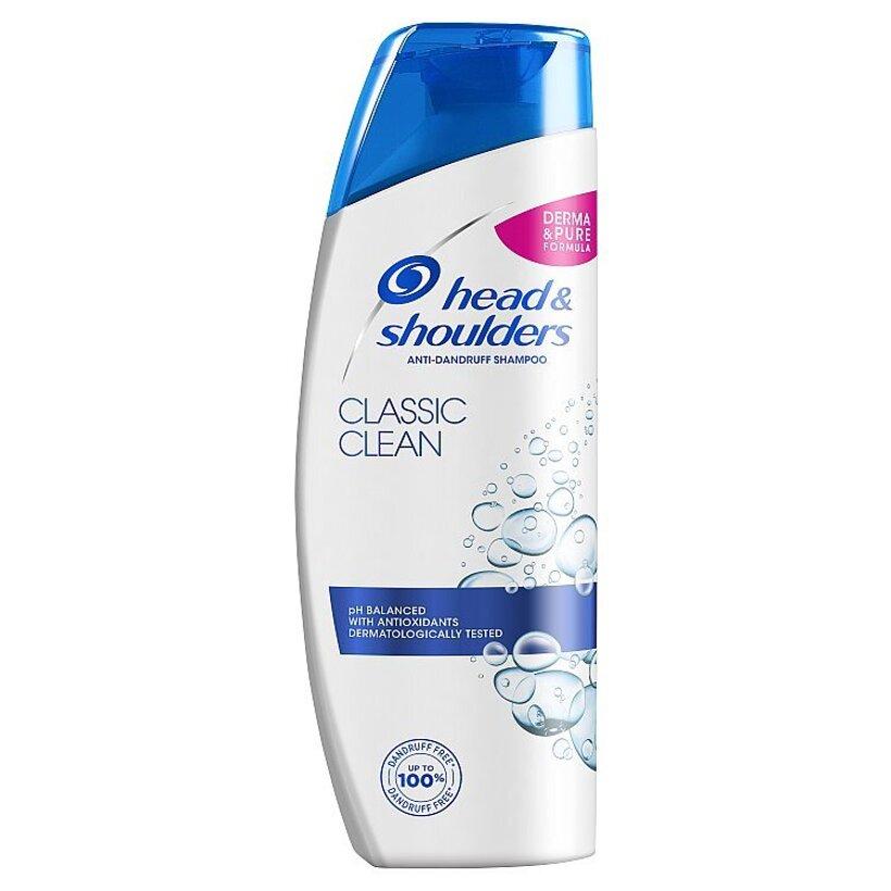 Head & Shoulders Classic Clean Šampón Proti Lupinám 300ml