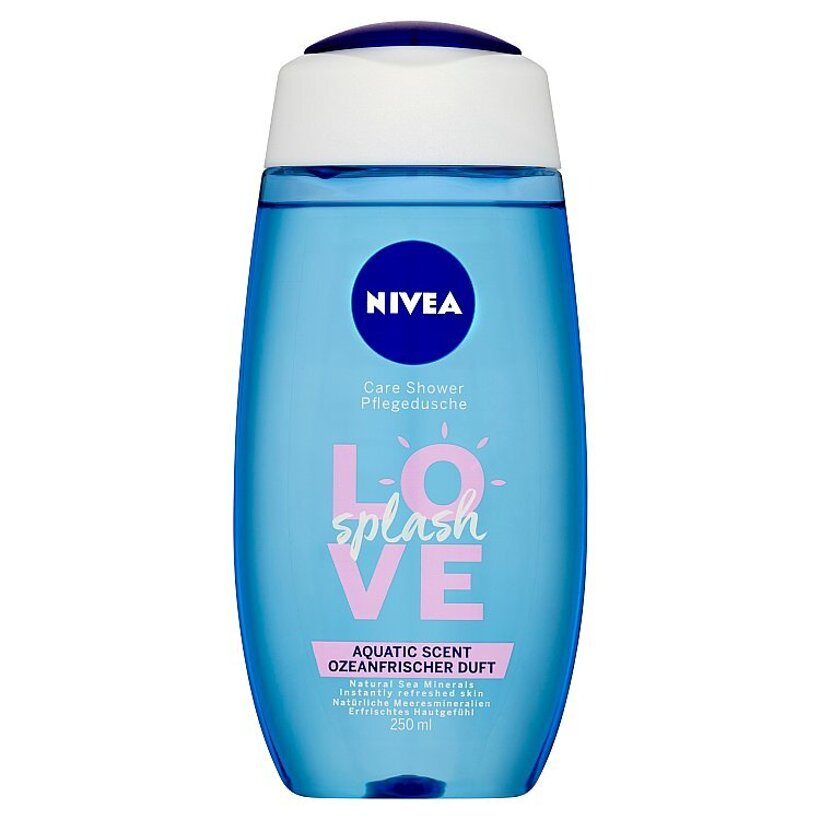 Nivea Love Splash Sprchový gél 250 ml