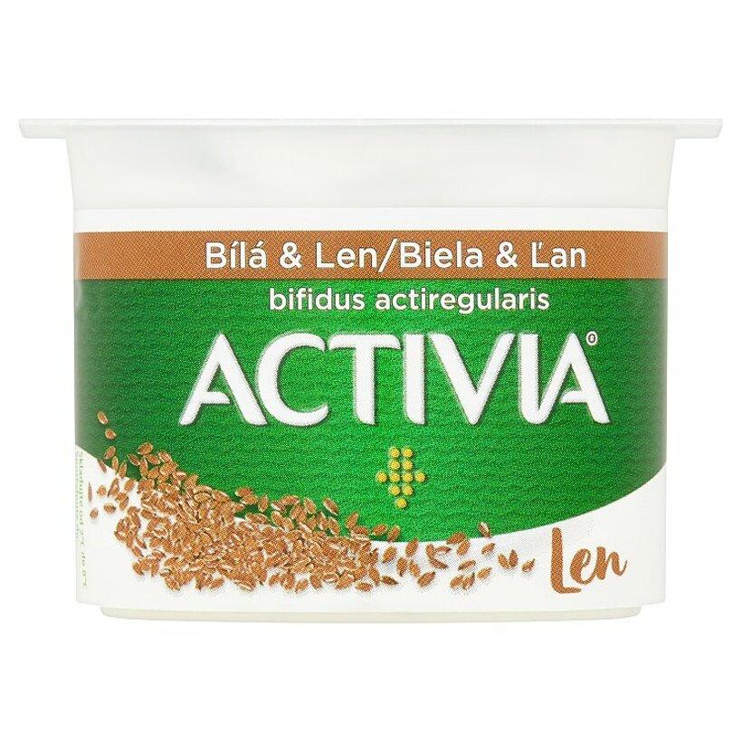Danone Activia Jogurt biela & ľan 120 g