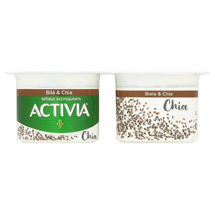 Danone Activia Jogurt biela & chia 4 x 120 g