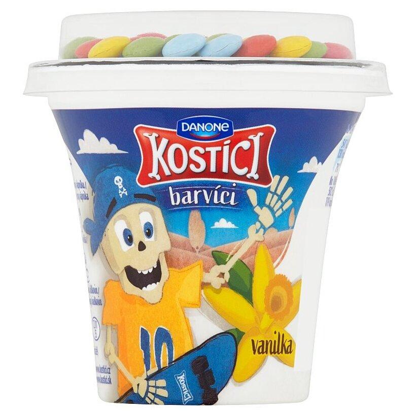 Danone Kostíci Barvíci jogurt vanilka 109 g