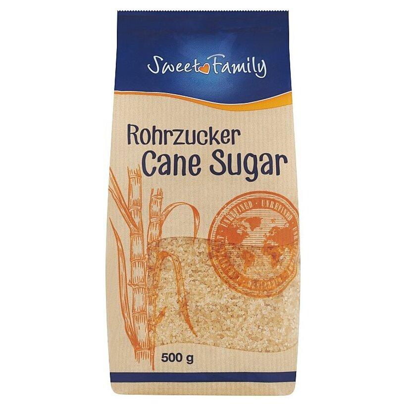 Sweet Family Trstinový cukor nerafinovaný 500 g