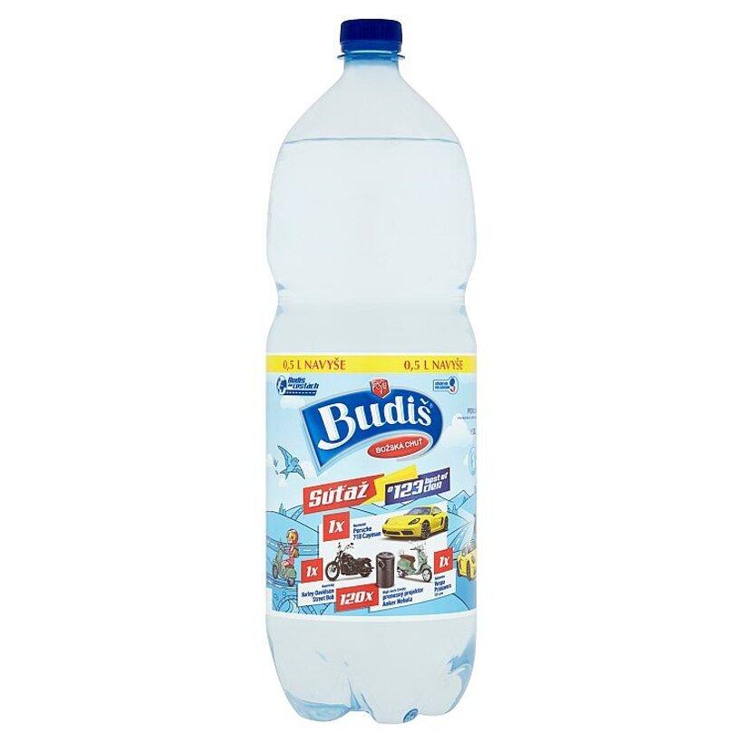 Budiš Prírodná minerálna voda perlivá 2 l