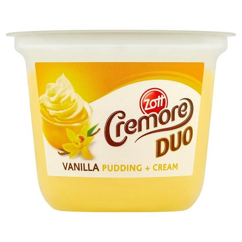 Zott Cremore Duo mliečny vanilkový dezert so šľahačkou 190 g