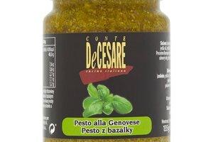 Conte DeCesare Pesto z bazalky 135 g