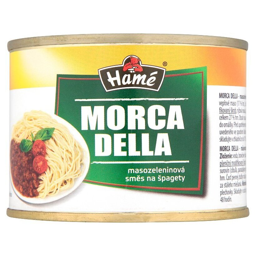 Hamé Morca della mäsovo zeleninová zmes na špagety 180 g