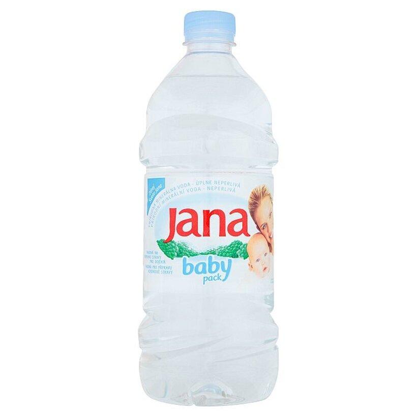 Jana Prírodná minerálna voda úplne neperlivá 1 l