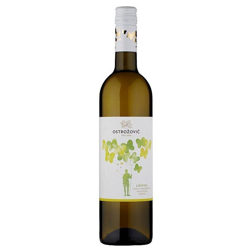 Ostrožovič Lipovina víno biele suché 0,75 l