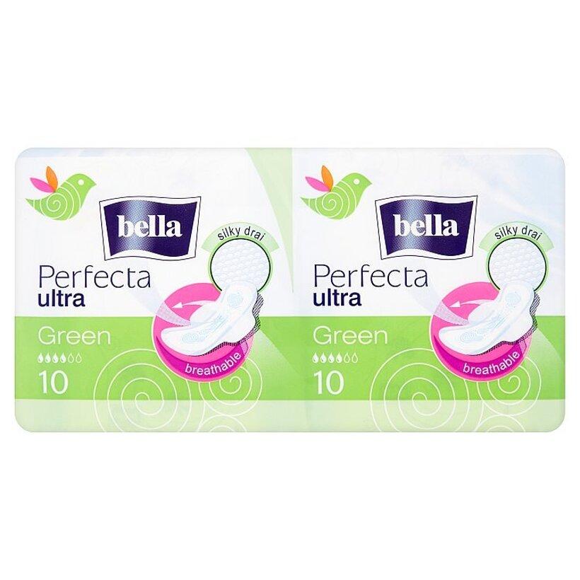 Bella Perfecta Ultra green ultratenké hygienické vložky 2 x 10 ks