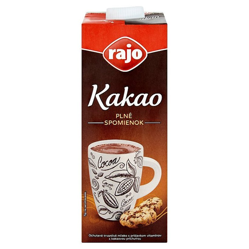 Rajo Kakao ochutené mlieko 1 l