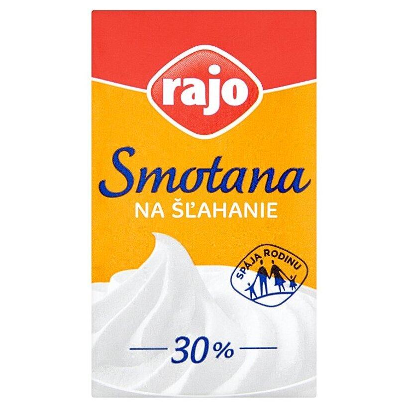 Rajo Smotana na šľahanie 30 % 250 ml