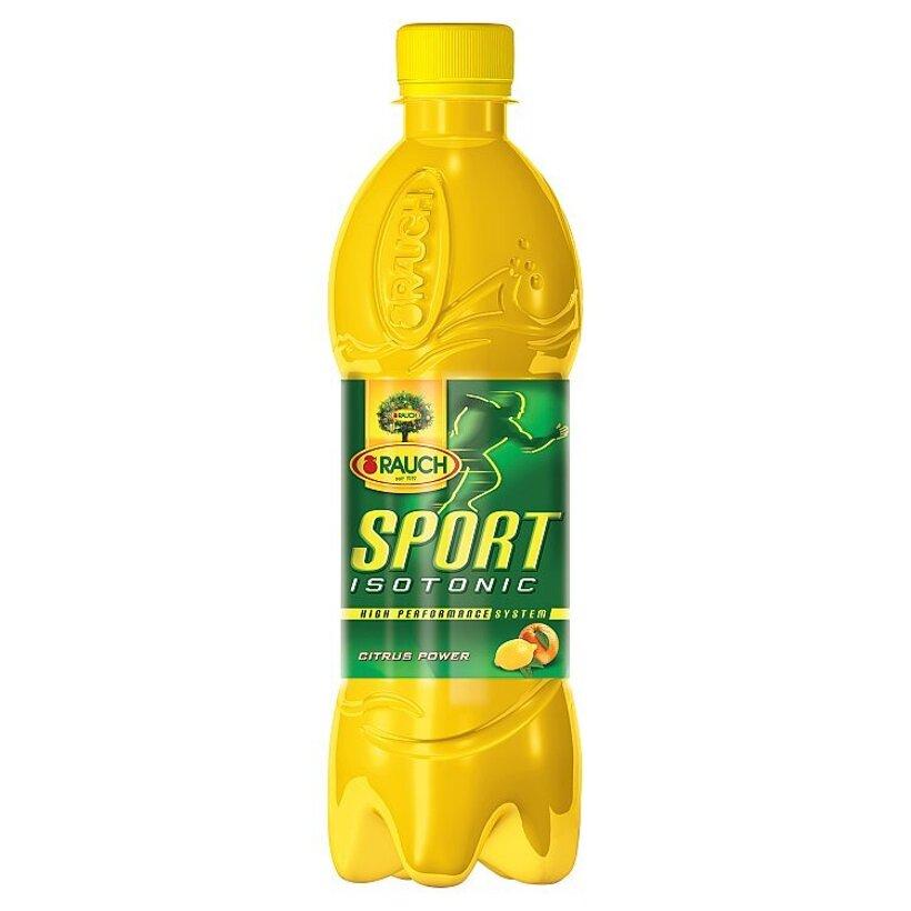 Rauch Sport Isotonic Citrus power sýtený izotonický nápoj 0,5 l