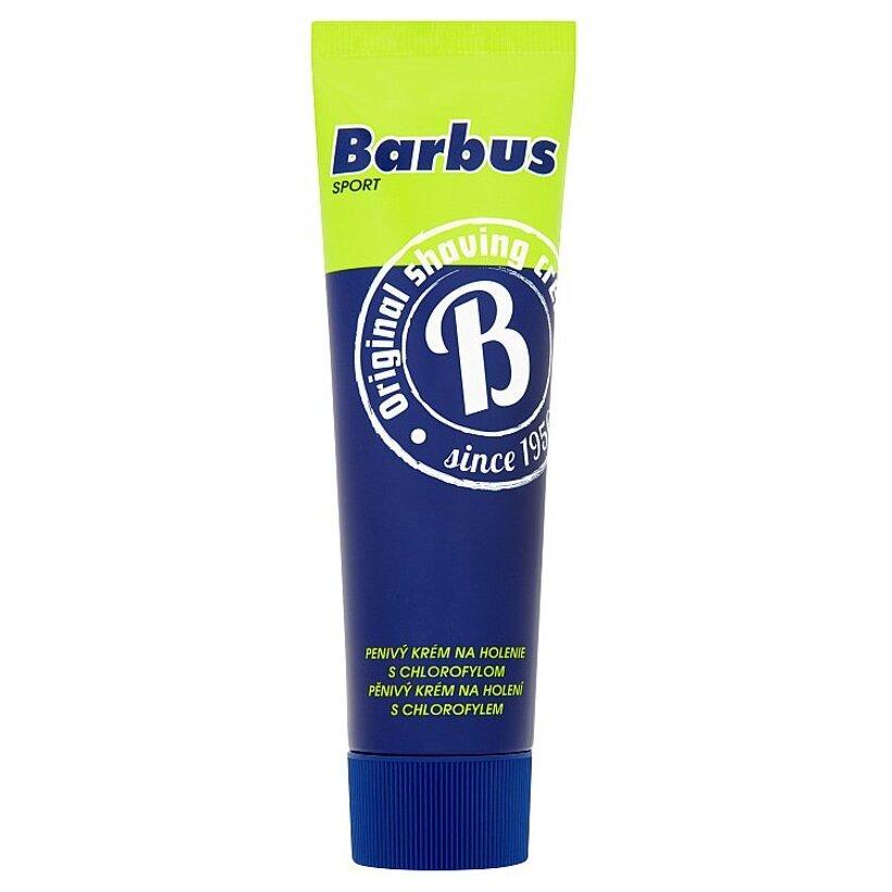 Barbus Sport penivý krém na holenie s chlorofylom 75 g