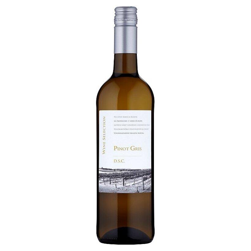 Wine Selection Pinot Gris akostné víno s prívlastkom kabinetné biele suché 0,75 l