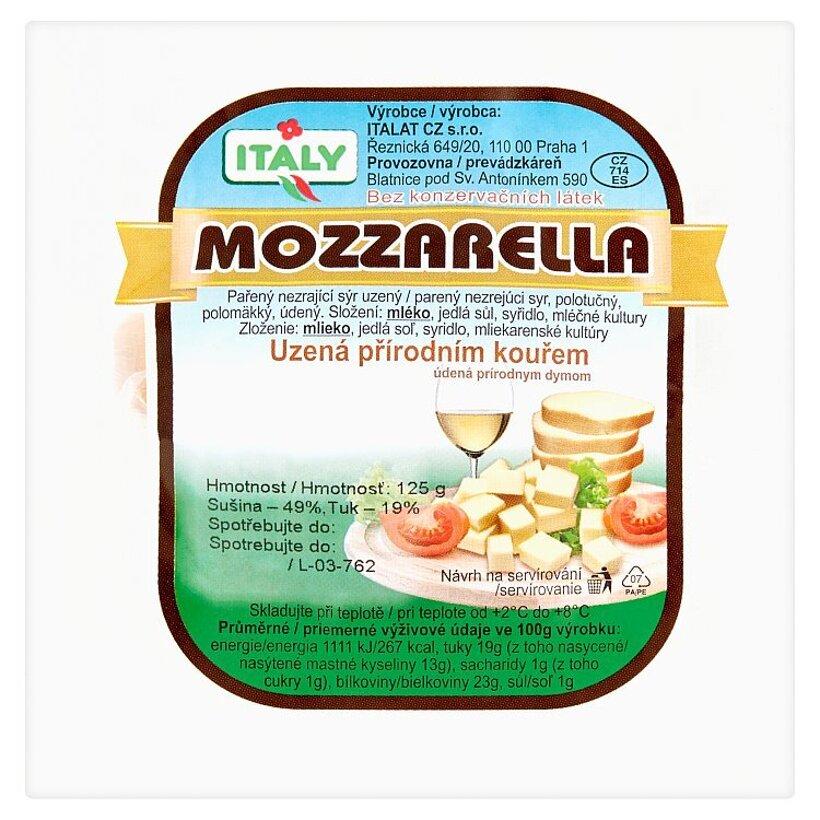 Italy Mozzarella údená prírodným dymom 125 g