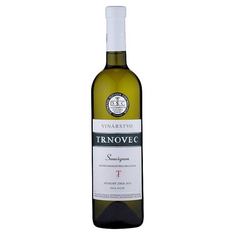 Vinárstvo Trnovec Sauvignon víno biele suché 0,75 l