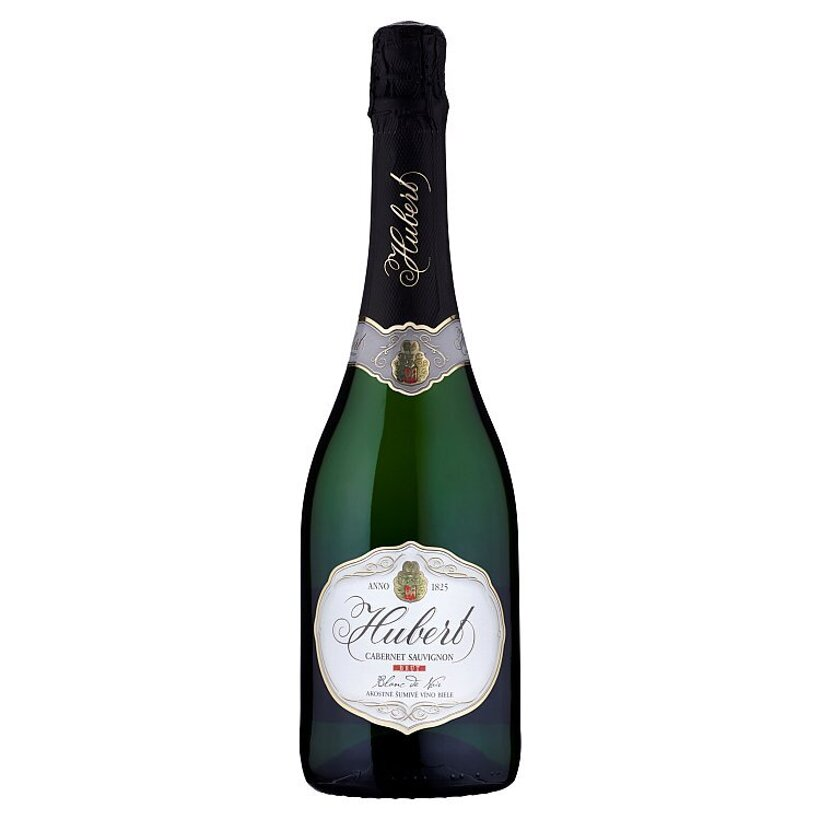 Hubert Cabernet Sauvignon brut akostné šumivé víno biele 0,75 l