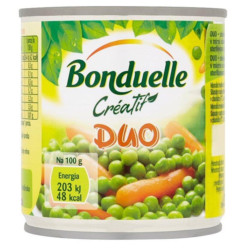 Bonduelle Créatif Duo zeleninová zmes v mierne slanom náleve 200 g