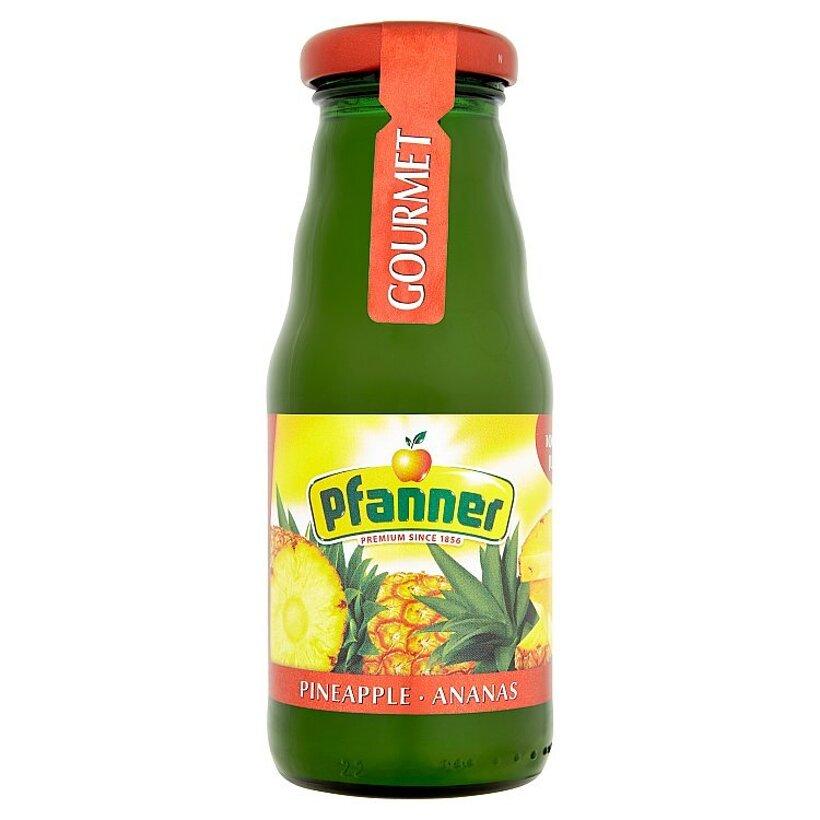 Pfanner Gourmet 100% ananásová šťava vyrobená z koncentrátu 0,2 l