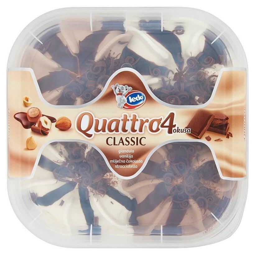 Ledo Quattro Classic mrazený krém 900 ml