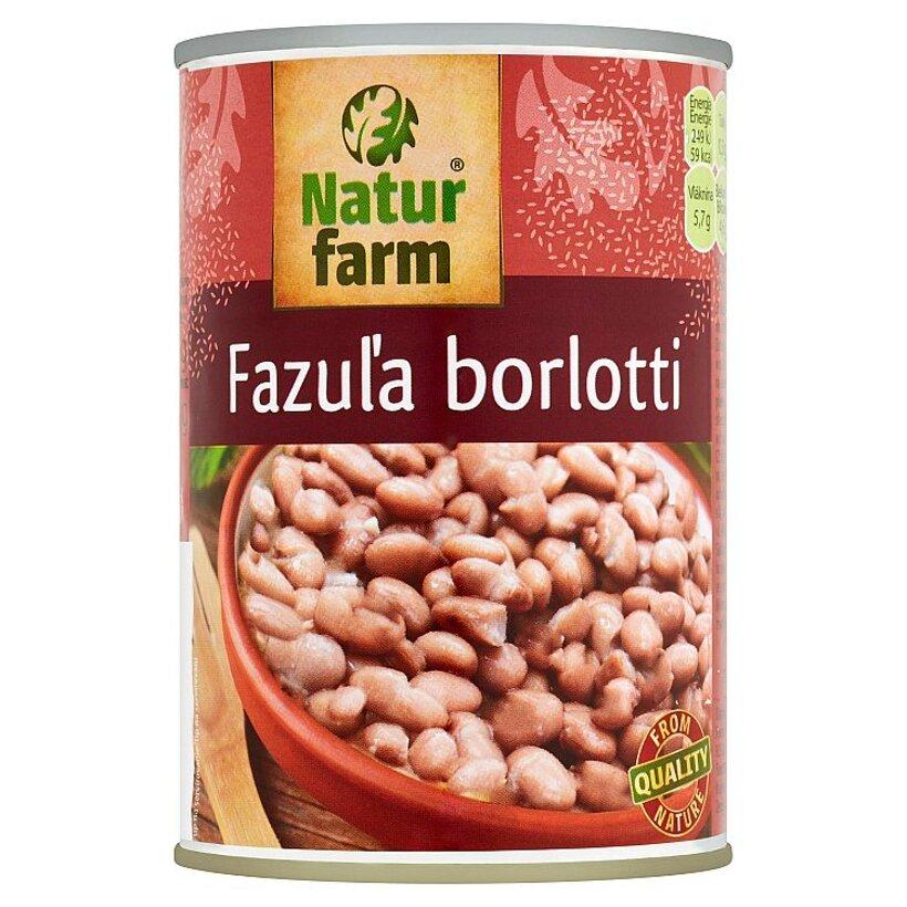 Natur Farm Fazuľa borlotti 400 g