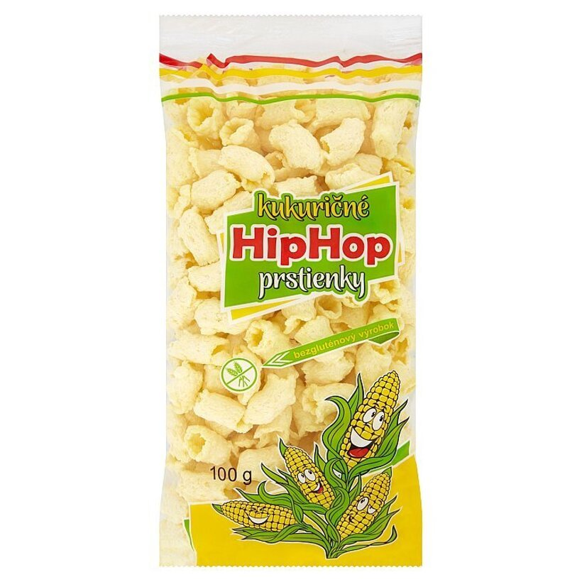 HipHop kukuričné prstienky 100 g